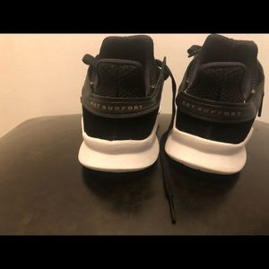 Used one time adidas sneakers size 6.5